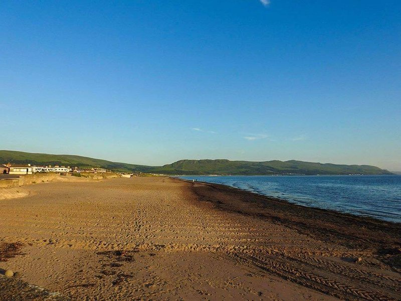 This amazing beach is 50 yards from our cottages