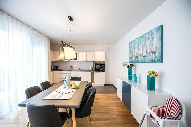Moderne Ferienwohnung Säntis, casa vacanza a Markdorf