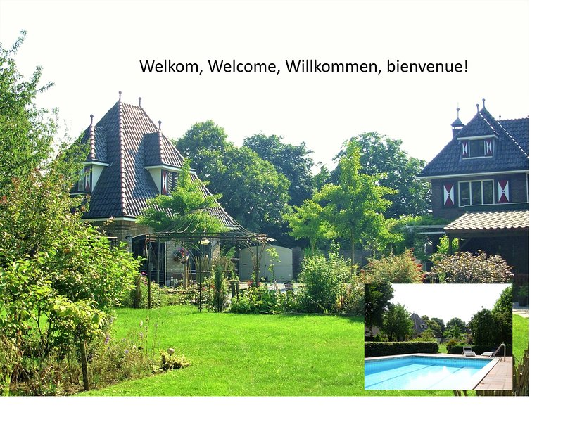 Guest House Taverne with free WiFi/Pool/Garden nearby Roermond (Outlet) / Thorn., holiday rental in Heythuysen