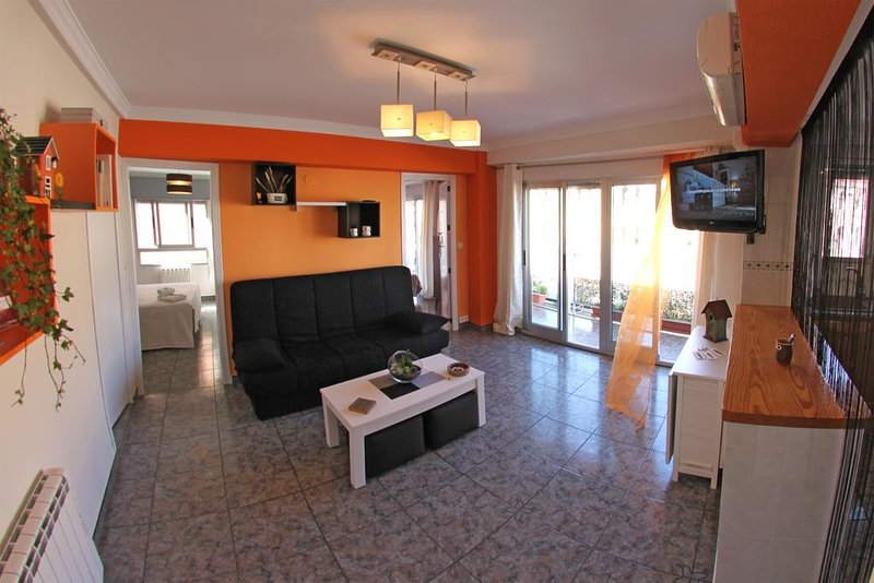 Beautiful apartment with balcony, holiday rental in Bocairente