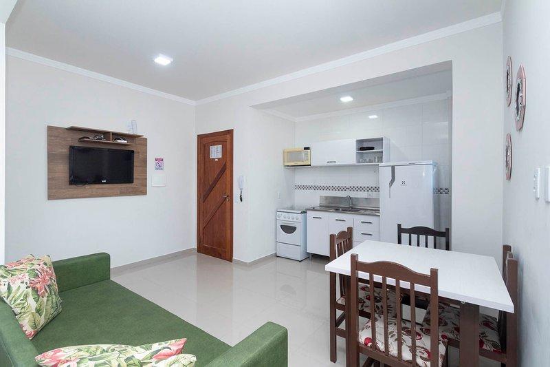 Aluguel Apartamento Studio 17 Monoamb 4 pessoas Bombas SC, aluguéis de temporada em Bombinhas