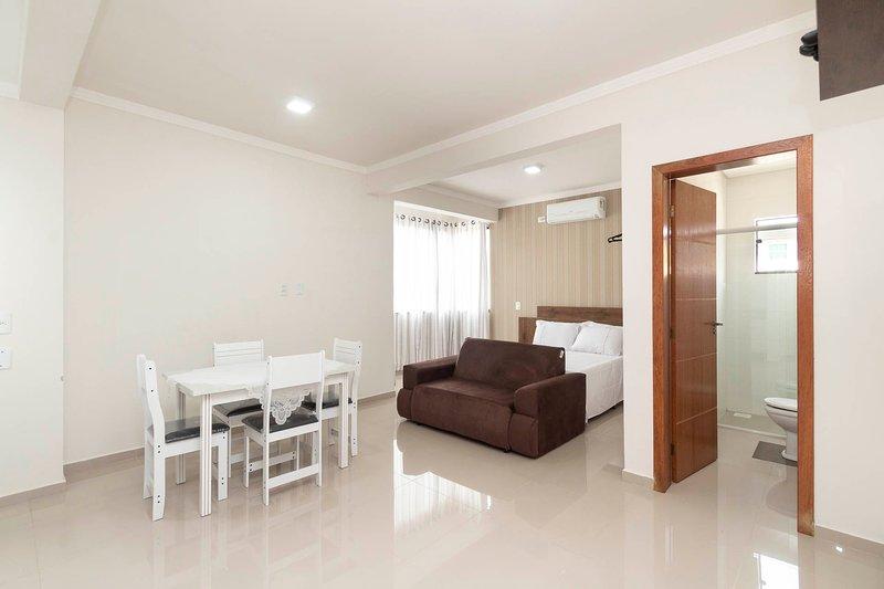 Aluguel Apartamento Studio 20 para 4 pessoas Bombas SC, location de vacances à Bombas