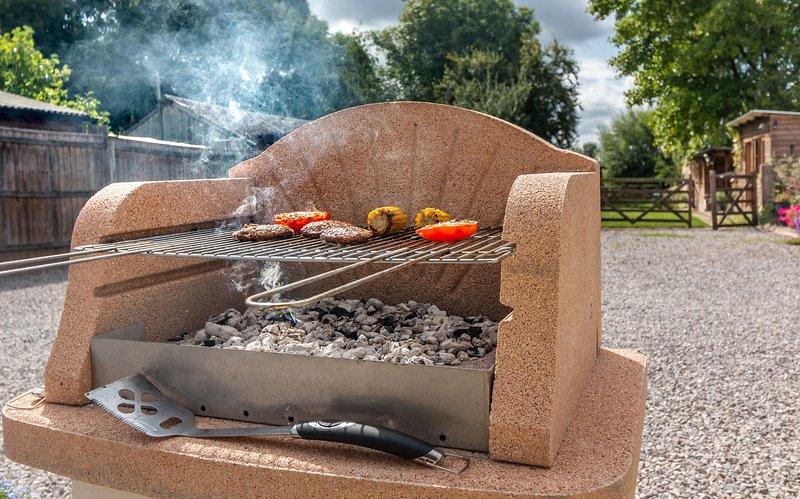 Ogni cottage ha il proprio barbecue