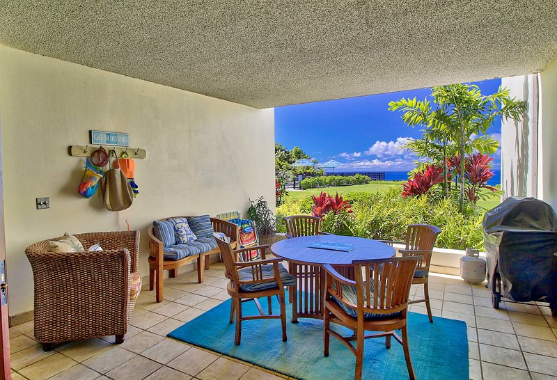 The unit offers 2 bedrooms, 2 baths and ocean views you won't want to miss!
