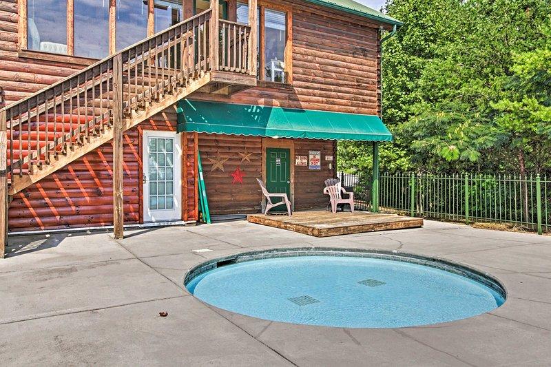 La piscina è aperta dal Memorial Day fino al Labor Day.