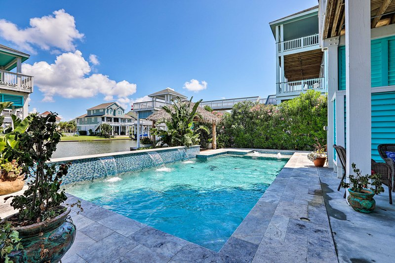Enjoy a one-of-a-kind vacation in this beautiful Galveston home!