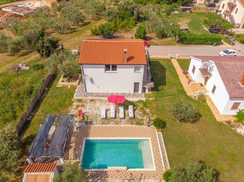 Ferienhaus Tiffany mit privatem Pool