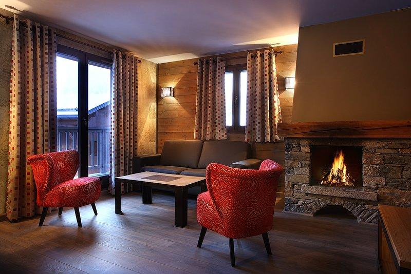 Sente-se e relaxe no nosso apartamento acolhedor e charmoso!