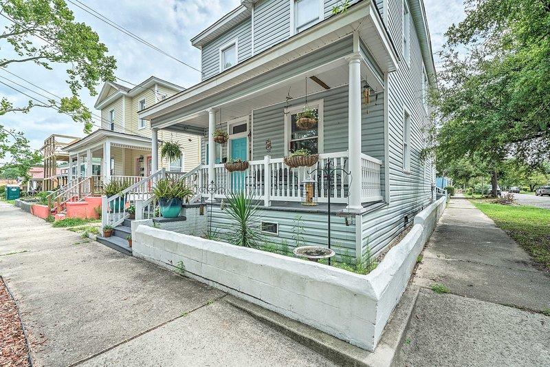 Questo accogliente appartamento in centro è a pochi minuti dalle attrazioni di Wilmington!