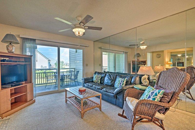 Book your North Carolina beach retreat to this 3-bedroom, 2-bath condo!
