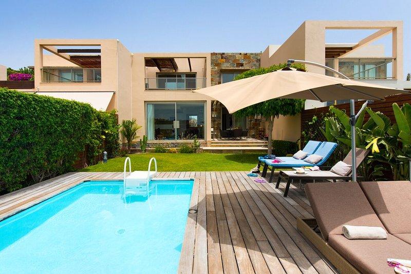 Poolurlaub mit Meerblick, Golf & Homeoffice auf Gran Canaria. Privater Pool, holiday rental in Monte Leon