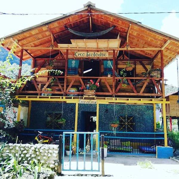Creo Ecolodge Jardin, alquiler vacacional en Támesis