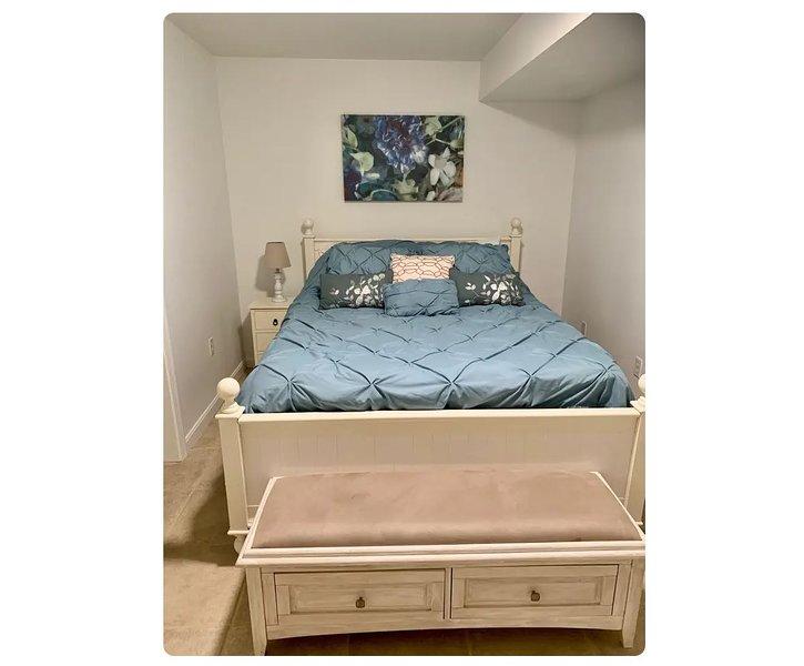 Queen gel memory foam mattress