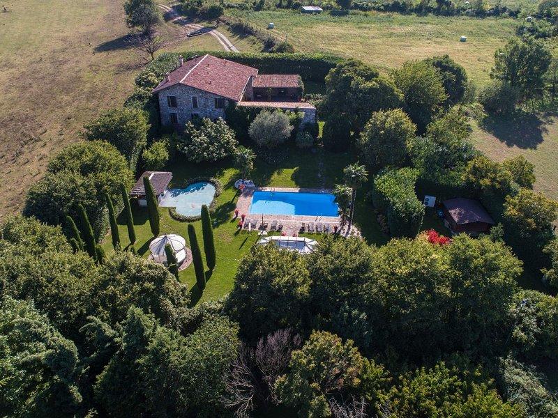 Villa Ambrogia, location de vacances à Ponte San Marco