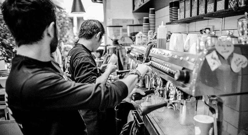 Hornear bar café