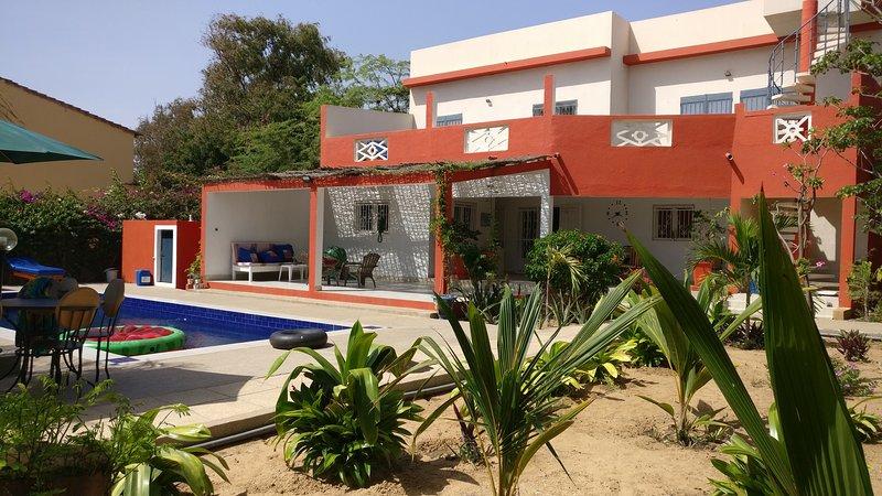 VILLA AMYOU: LOCATION DE 6 CHAMBRES D HOTES, holiday rental in Thies Region