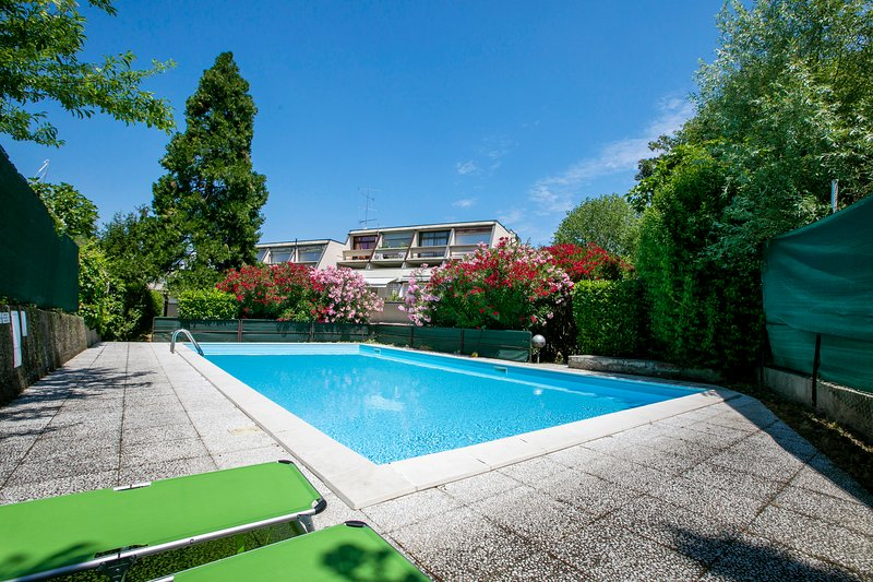 Swimming pool of the residence