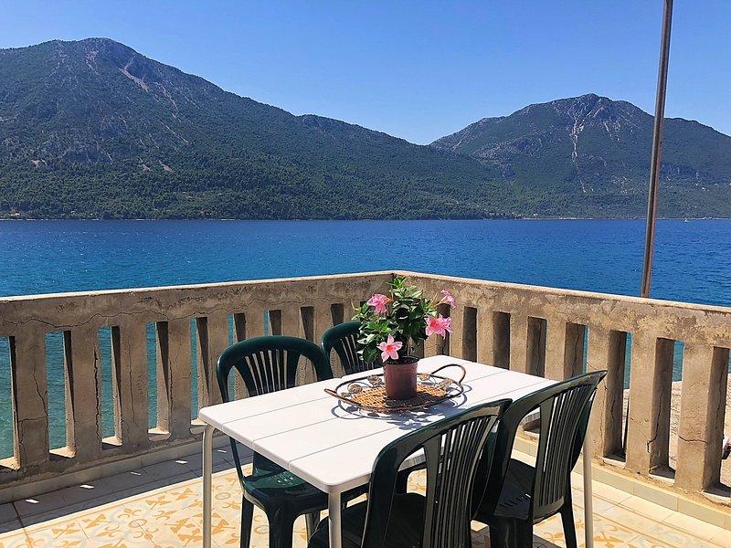 MITIKAS House on a BEACH Guests 4, vacation rental in Aetolia-Acarnania Region