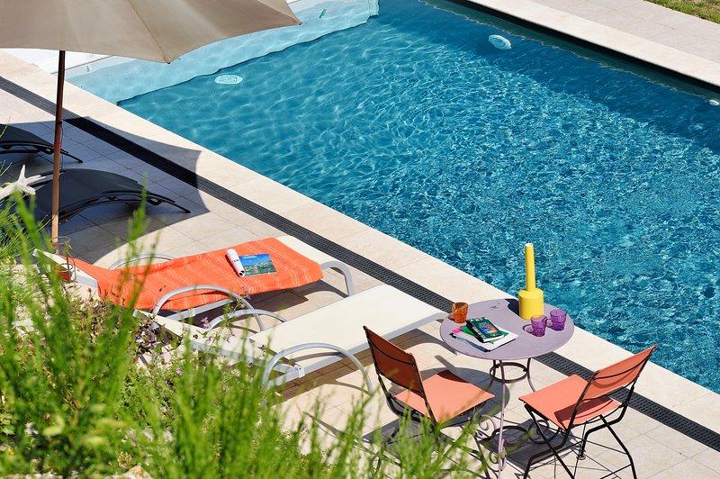 bergerie avec piscine dans la châtaigneraie., holiday rental in Olivese