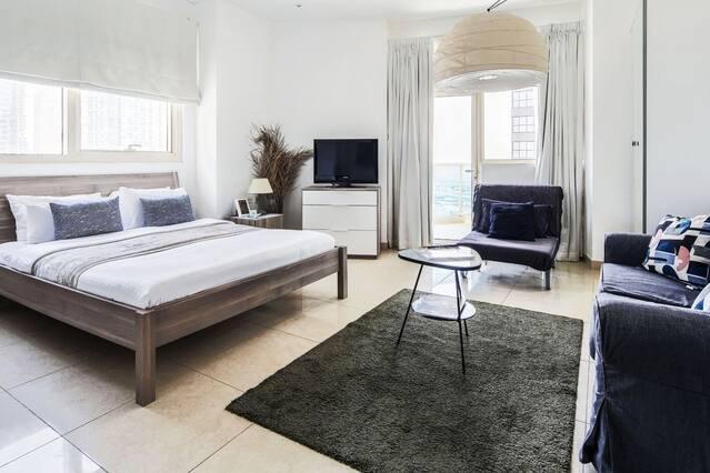 Área de estar y dormir