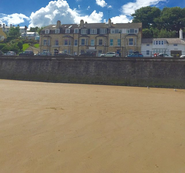 fantastic seafront location