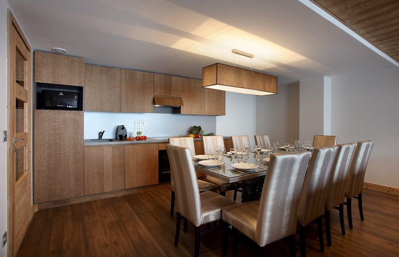 Venha e fique no nosso charmoso apartamento em Les Arcs.