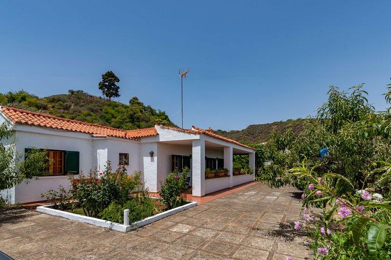 Holiday cottage in La Lechuza, holiday rental in Cruz de Tejeda