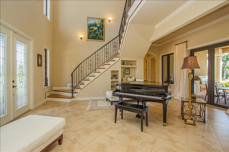 Entrance with Piano