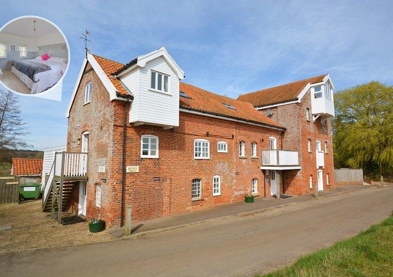 Woodbridge at Butley Mill, location de vacances à Hollesley