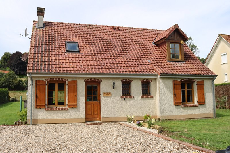 Maison Hahn - Prices Held For 2021, holiday rental in Aubin-Saint-Vaast