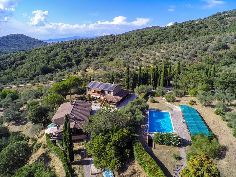 Cerreto-Casalini am Lago Trasimeno Ferienwohnungen von privat, aluguéis de temporada em Colle San Paolo