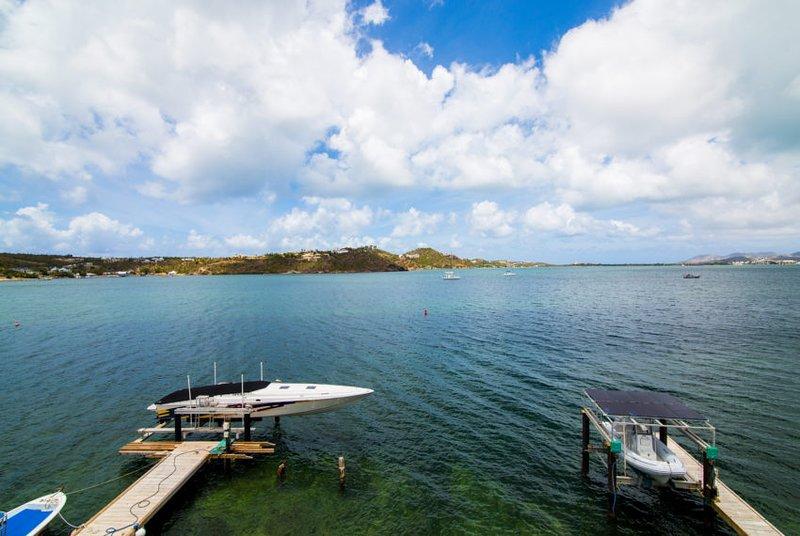 SEACHEST...Spacious, full AC, gorgeous views of Simpson Bay Lagoon, holiday rental in Sint Maarten