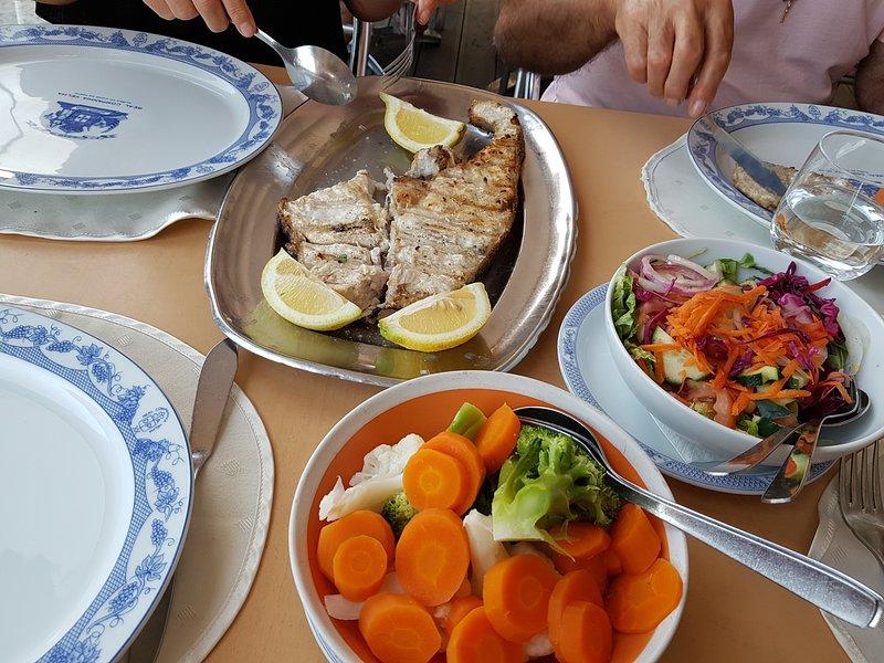 Fresh fish is always on the menu!