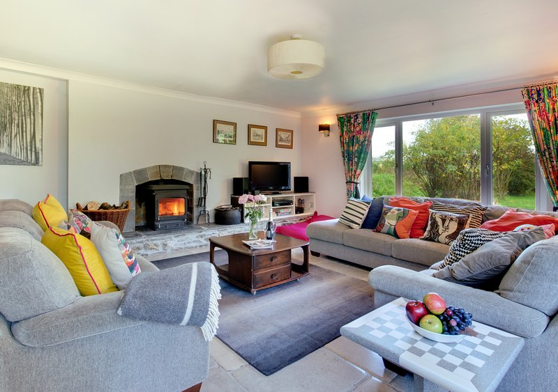 Abovetown, vacation rental in Boconnoc