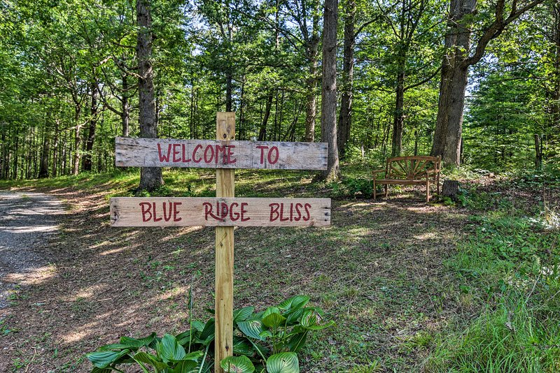 Discover Blue Ridge Bliss on your mountain retreat!