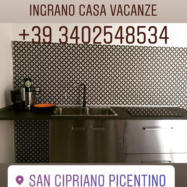 Residenza INGRANO Casa Vacanza Monti Picentini, holiday rental in San Cipriano Picentino
