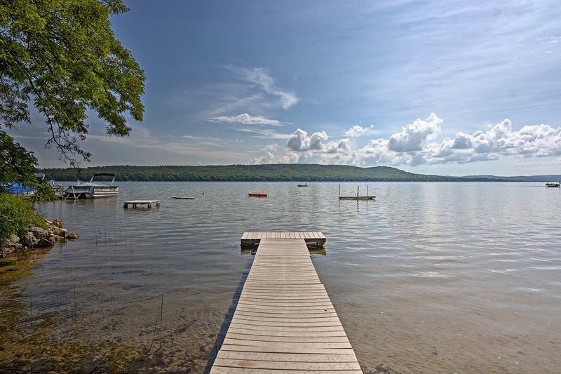 You'll have access to this dock during your stay.