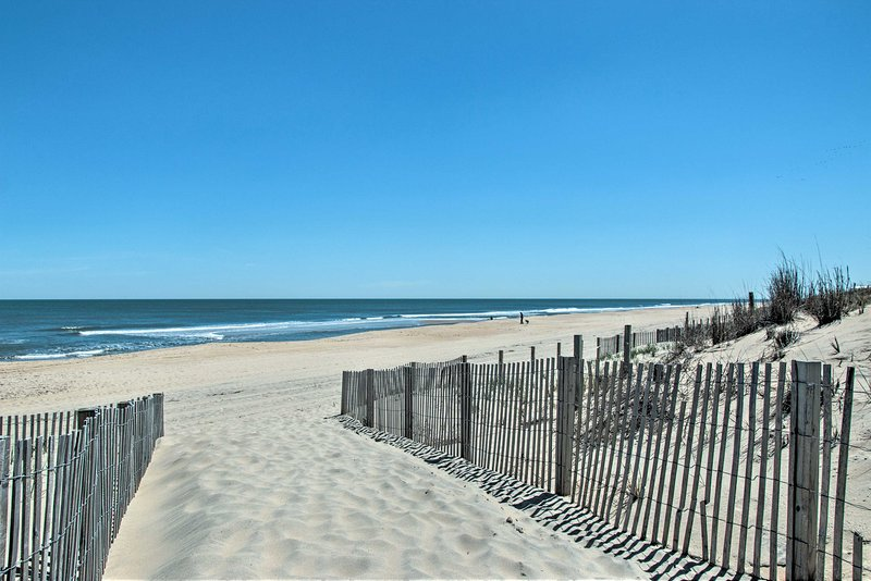 Let memories be made on the beach during your stay in Ocean City!