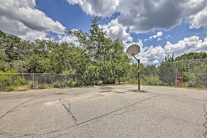 Play some pick up basketball while your at it.