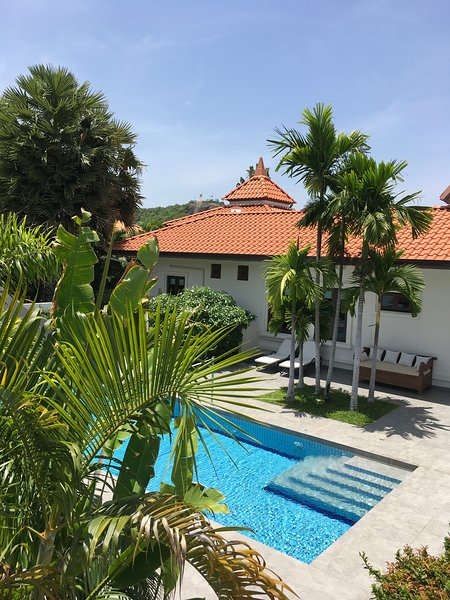 Villa Banyan with private pool on Banyan Resort – semesterbostad i Hua Hin