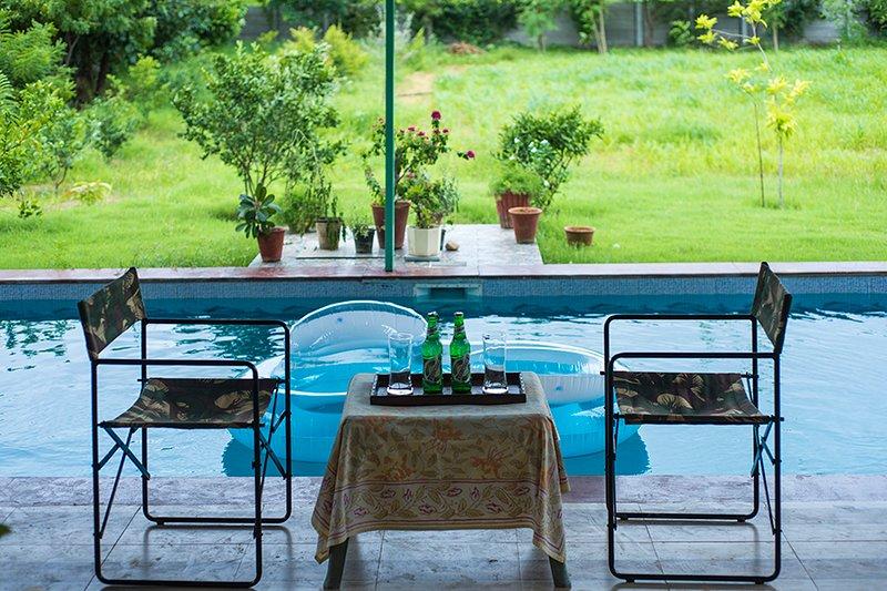 Girisadan Farmstay by Vista Rooms, alquiler vacacional en Jaipur