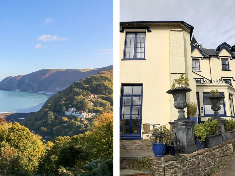 BAYVIEW TERRACE, Sea views, WiFi, Enclosed garden, Lynton, holiday rental in Barbrook