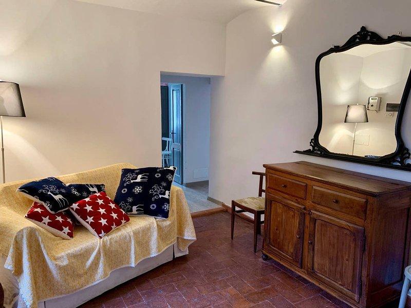 Casa Felicetta nel centro storico di  Roccatederighi, holiday rental in Ribolla