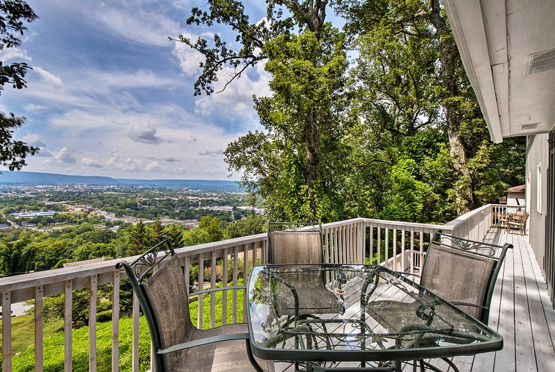 Experience a one-of-a-kind stay at this Chattanooga vacation rental.
