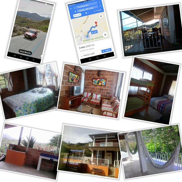 Alquilo cabaña villa vicky, location de vacances à Boyaca Department