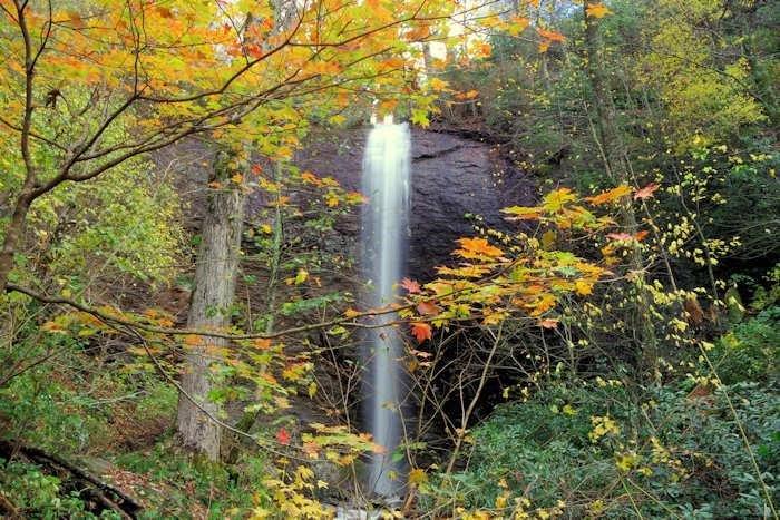 Douglas falls - 15 miles away