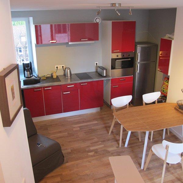 Beau - calme T2 duplex centre historique Dole, holiday rental in Dole