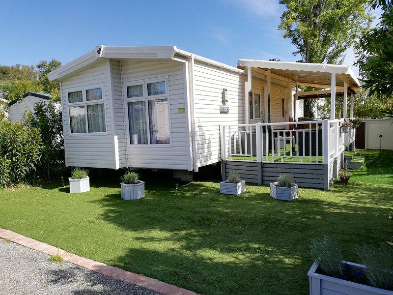 Location M-H, résidentiel, confortable, 2 ch, 6 personnes à Fréjus, casa vacanza a Frejus Plage