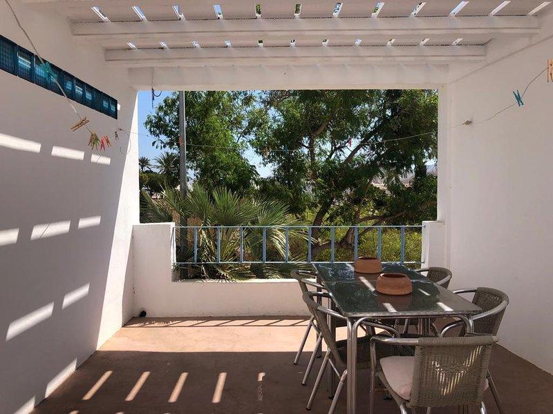 La casa de las terrazas (100 m2), casa vacanza a Los Escullos