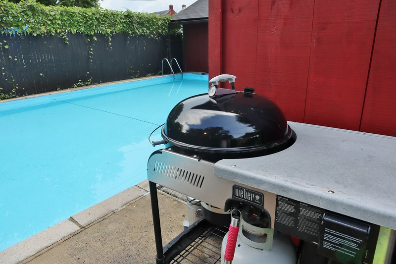 Gas-Start Charcoal Grill
